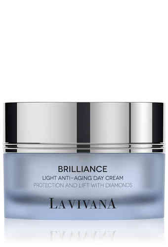 Light Anti-Aging Day Cream Protection and Lift with Diamonds