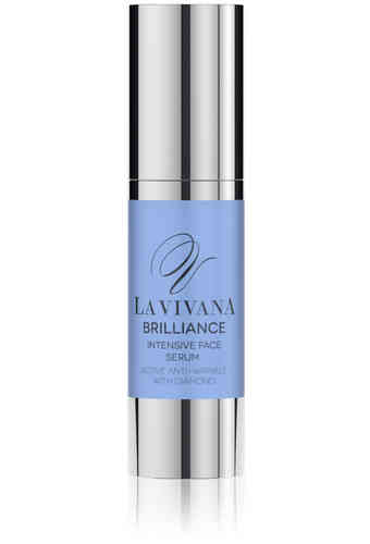 Intensive Face Serum Active Anti-Wrinkle with Diamonds