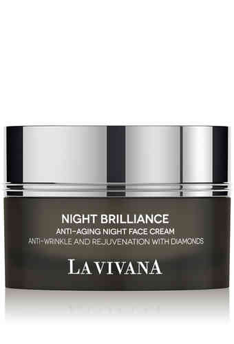 Anti-Aging Night Face Cream Anti-Wrinkle and Rejuvenation with Diamonds