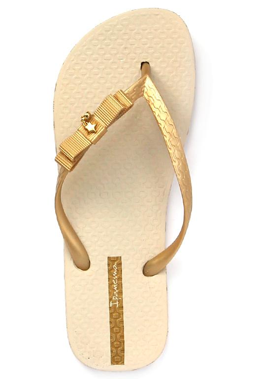 ddaa39362da5 Ipanema Glamour beige-gold I Ipanema flip-flops Online Shop
