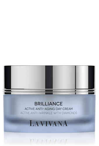 Active Anti-Aging Day Cream  Active Anti-Wrinkle with Diamonds